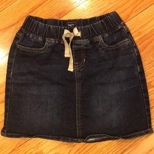GAP denim skirt. Size 10. Like new
